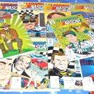 Legends of NASCAR 1990 Vortex Series Fourteen Issue Lot
