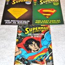 Superman Lot: Adventures of Superman #501 [DM] 1993, Action Comics #687 [DM] , 696 1993 & 1994
