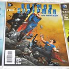 Batman / Superman 2013 Series #'s 1, 2, 3 All 1rst Prints
