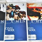 X-Men: Civil War Lot 1, 2, 3, 4 2006 Limited Series