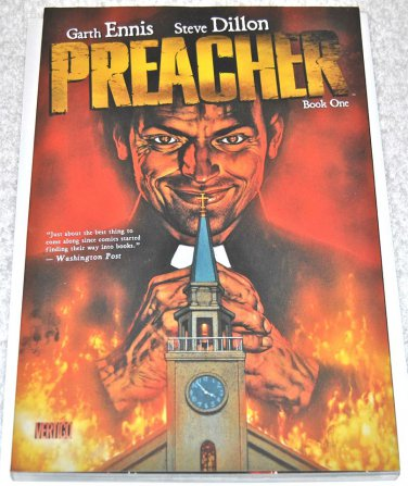 Preacher Book One 2009 TPB Collected Edition 1rst Print