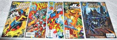 Amalgram Comics Five Issue Lot 1996-1997