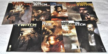 Sam and Twitch 1999 Series Nine-Issue Lot