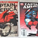 Captain America #25 2007 (2005 Series) Death of Captain America Cover A and Variant