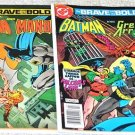 Brave and the Bold 1955 Series Four-Issue Lot
