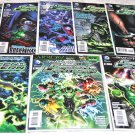 Green Lantern 2011 New52 Series Eight-Issue Lot