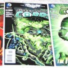 Green Lantern Corps 2011 New52 Series Five-Issue Lot