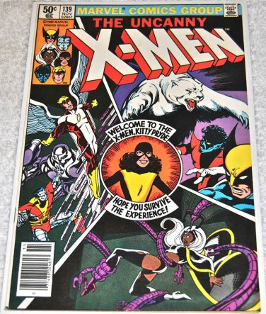 X-Men #139 1980 (1963 Series) [Newsstand Edition]