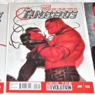 Thunderbolts 2013 Series Three-Issue Lot