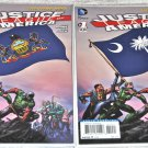 Justice League of America #1 [Pennsylvania] and #1 [South Carolina] 2013 Series