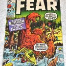 Fear #1 1970 Steve Ditko and Jack Kirby