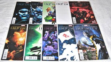 Infinity 2013 Limited Series Ten-Issue Lot