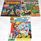 Journey Into Mystery Three-Issue Lot