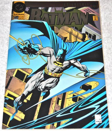Batman #500-1993 (1940 Series) [Die-Cut Special Edition Bruce Wayne as Batman] w/ Two Cards