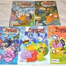 Adventure Time 2012 Boom! Studios Five-Issue 1rst Printings Lot