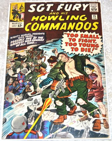 Sgt. Fury and his Howling Commandos #15 1965