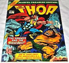 Marvel Treasury Edition #10 [Regular Edition] 1976 Jack Kirby Thor