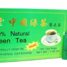 Organic Green Tea, 100% Natural by Royal King (100 tea bags)