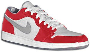 Air Jordan 1 Low True White/Varsity Red/Stealth South Side