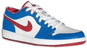Air Jordan 1 Low White/Varsity Red-Varsity Royal East Side