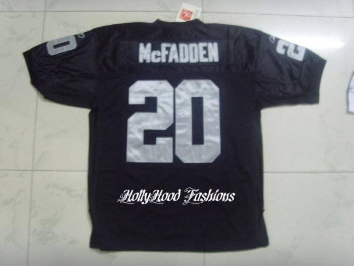 Darren McFadden Authentic Raiders Home Jersey