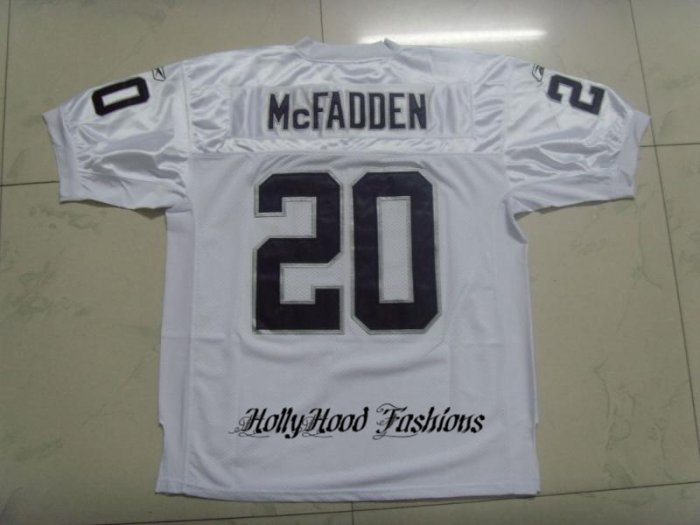 Darren McFadden Authentic Raiders Away Jersey