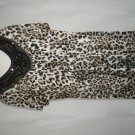 LADIES EMBELLISHED ANIMAL PRINT TUNIC PLUS SIZE 26