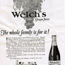 1924 Welch&#39;s Grape Juice Vintage Ad 6x9