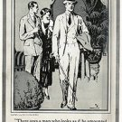 1924 Hart Schaffner & Marx Suits Vintage Ad 6x9