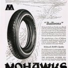 1924 Mowhawk Tires Vintage Ad 6x9