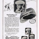 1924 Merton-air Caps Vintage Ad 6x9