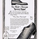 1924 Korrect-shape Shoes Vintage Ad 6x9