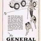1924 General Balloon Tires Vintage Ad 6x9