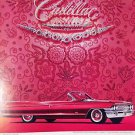 1961 Cadillac Convertible Vintage Ad 10x14