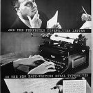 1935 Royal Quiet Typewriter Vintage Ad 10x14