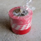 Japanese Washi Masking Tape set of 3 Sweetheart Series - Pink Red Hearts