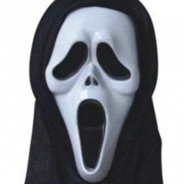 Devil Scream Mask/Halloween/Masquerade Mask/Monolithic Terror Mask/Protest