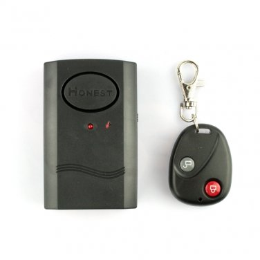 Wireless Remote Control Vibration Alarm for Door Window