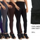 Thick Warm Fleece lined Fur Winter Tight Pencil Leggings Sexy Pants - Free Shipping in USA