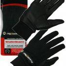 "PowerBilt Black L Men's ""Weather Beaters"" Cold Weather Golf Gloves (1 Pair)"