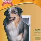 Pet Door Extra-Large 10.5 by 15-Inch Flap with Telescoping Frame, Dogs Cats - Free shipping in USA