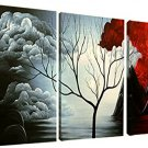 Santin Art the Cloud Tree-Modern Abstract Painting Wall Decor Landscape - Free shipping in USA