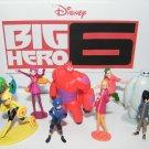 Disney Big Hero 6 Figure Set of 12 Toy Playset with Hiro, Baymax, Fred and Bonus