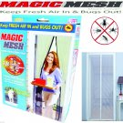 Magic Mesh Hands-Free Screen Door with magnets - Free Shipping in USA