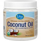 Viva Labs Organic Extra Virgin Coconut Oil, 16 Ounce - Free Shipping In USA