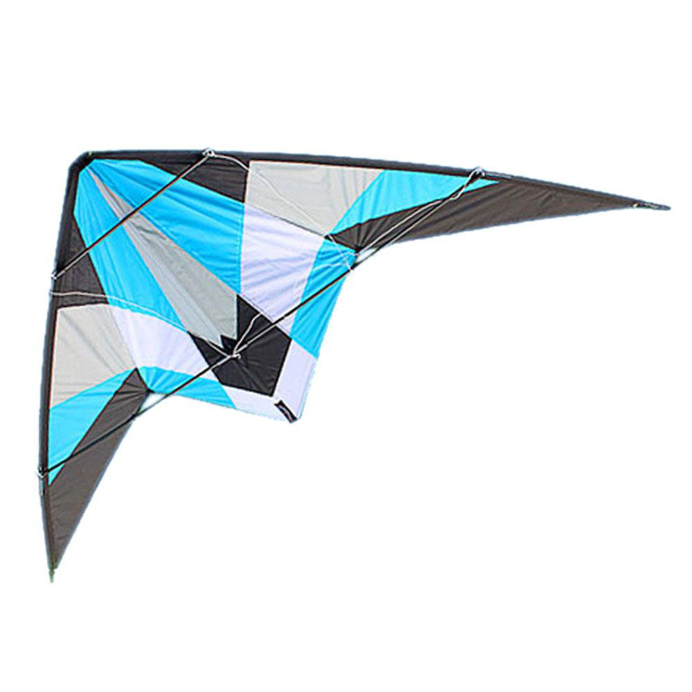 how to build a dual line delta stunt kite