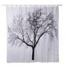 Tree Design Waterproof Bathroom Fabric Shower Curtain - Free Shipping In USA