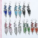 5 Pairs Round And Round Thread Peruvian Earrings Sale