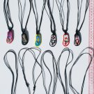 10 Black Necklaces Ethnic Peruvian Pendants Jewellery