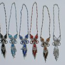 5 Color Thread Necklaces Artisan Hand Crafted Jewellery